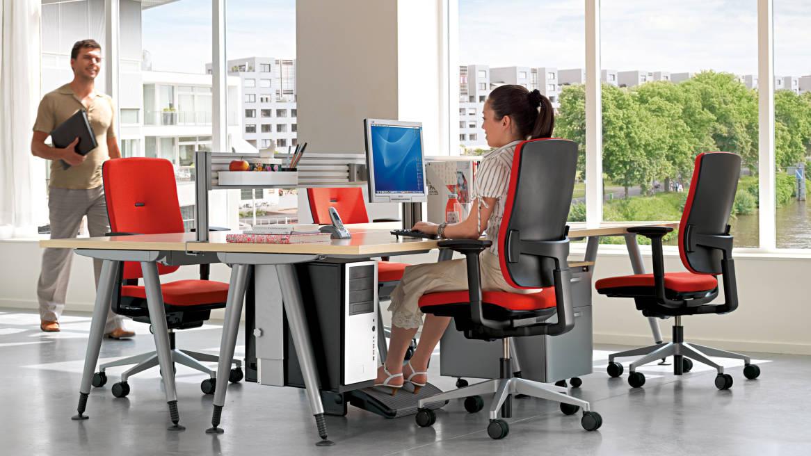 Ergonom a steelcase for Mobiliario ergonomico