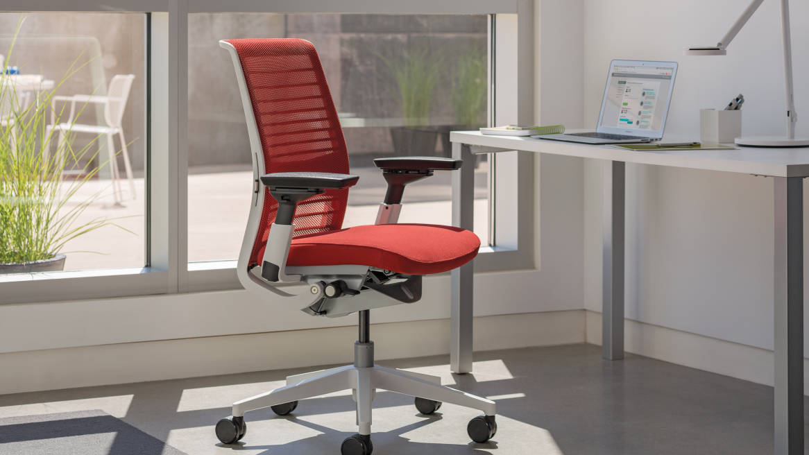 think ergonomic & adjustable office chair - steelcase