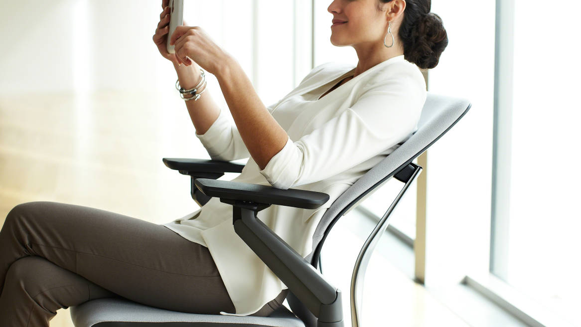 Gesture chair, a text neck solution