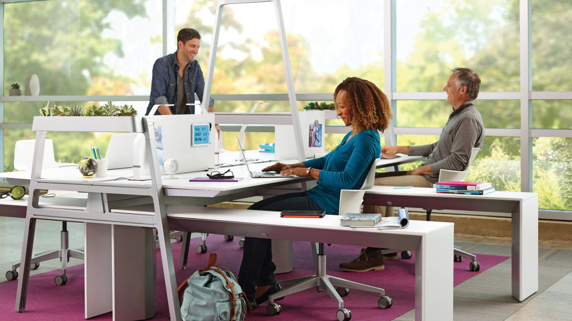Is the open office the end of privacy? steelcase