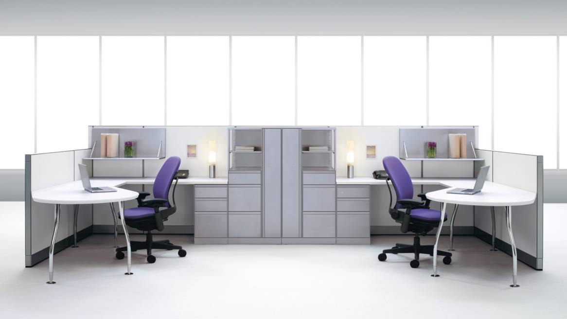 Series 9000 Office Workstations & Panel Systems - Steelcase