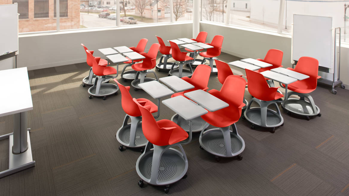 University Classroom Design Standards ~ How classroom design affects engagement steelcase