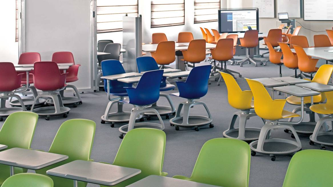 Classroom Decor Research ~ The effects of a stimulating learning environment steelcase