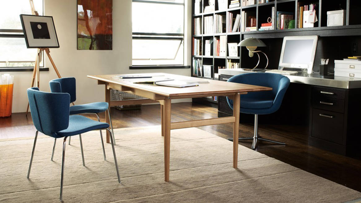 coalesse ch327 dining table & office desk - steelcase