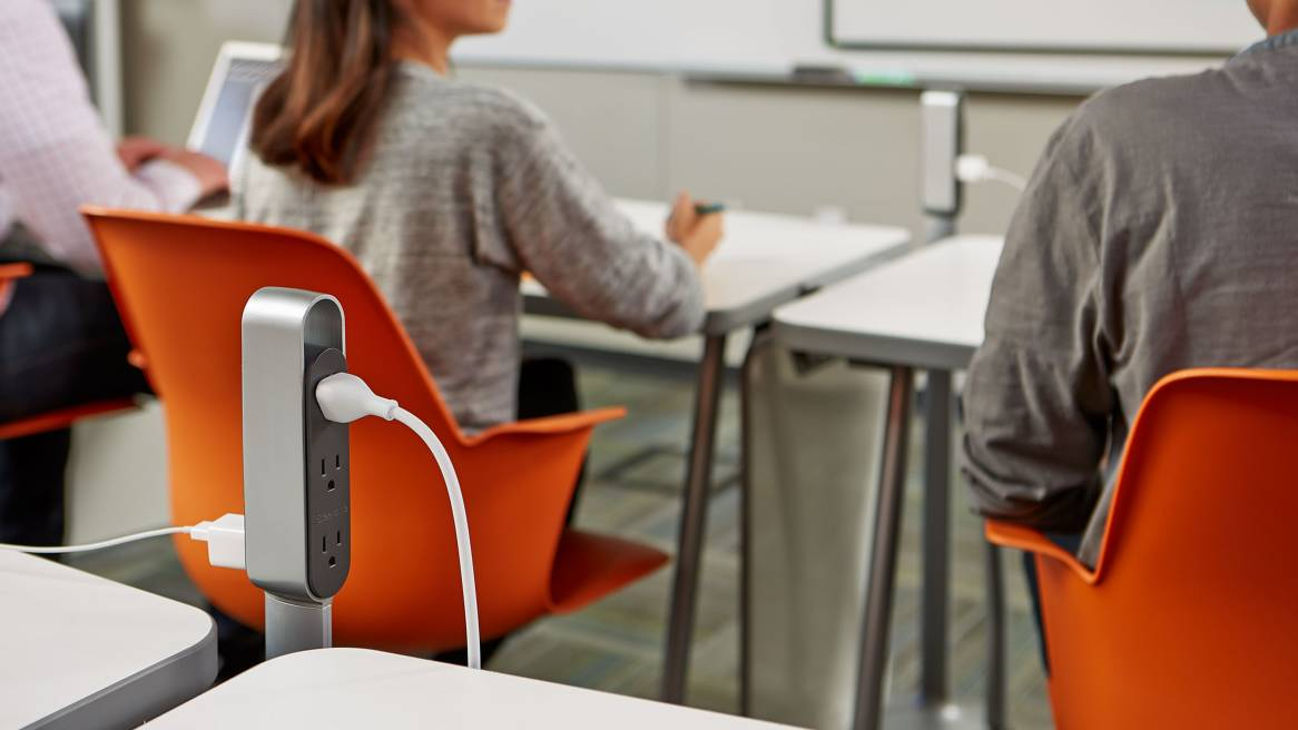 Innovative Classroom Training : Thread power distribution for education spaces steelcase