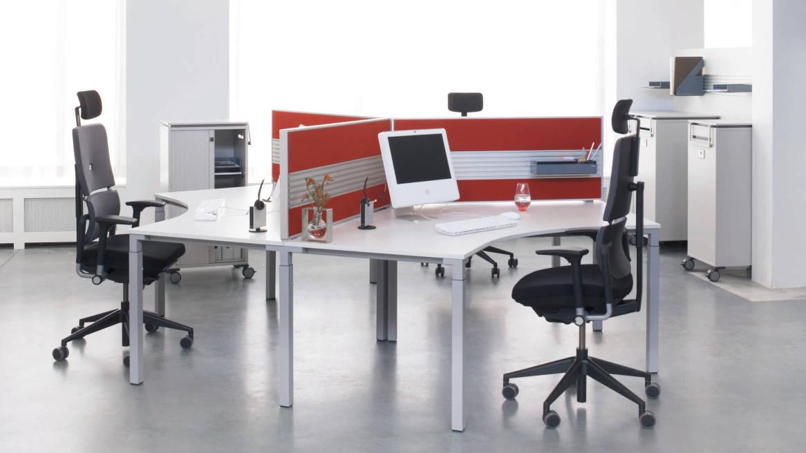 Kalidro Konferenztisch System & Konferenztisch mit Rollen