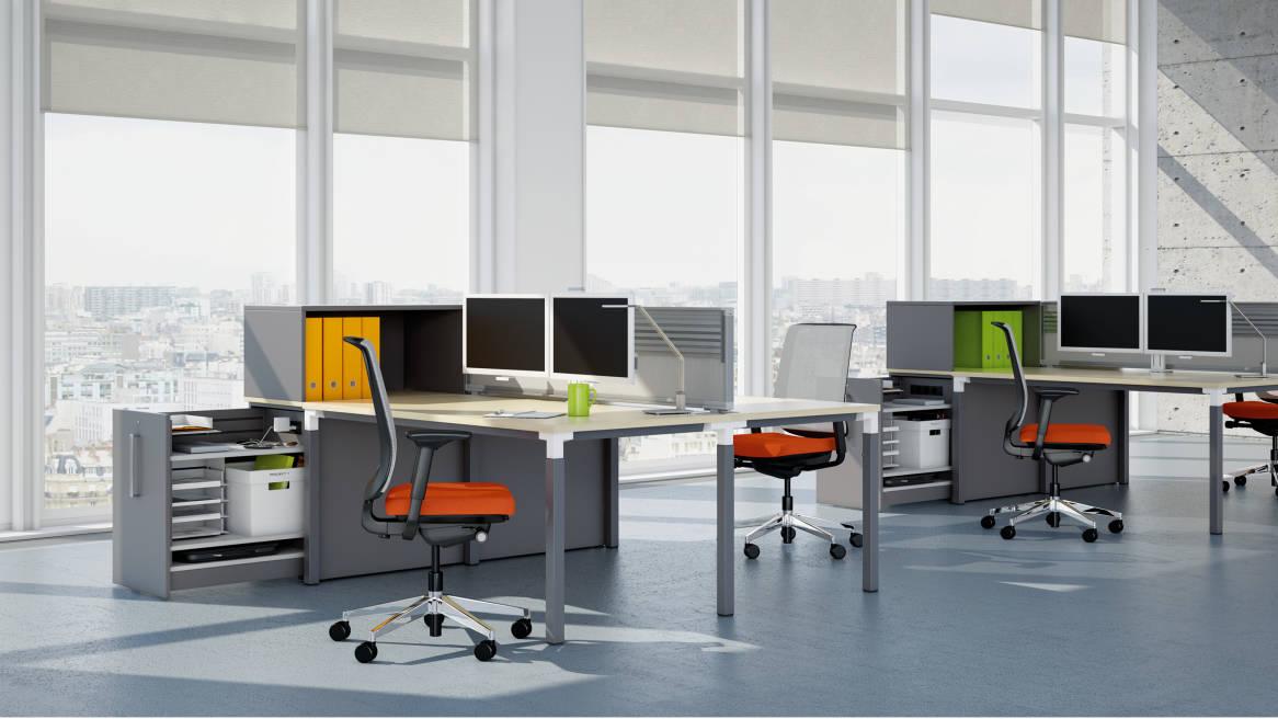 Kalidro – Steelcase Design Schreibtische