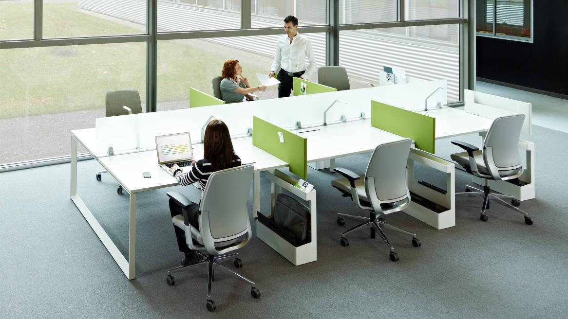 Steelcase Frameone Bench Ergonomischer Schreibtisch
