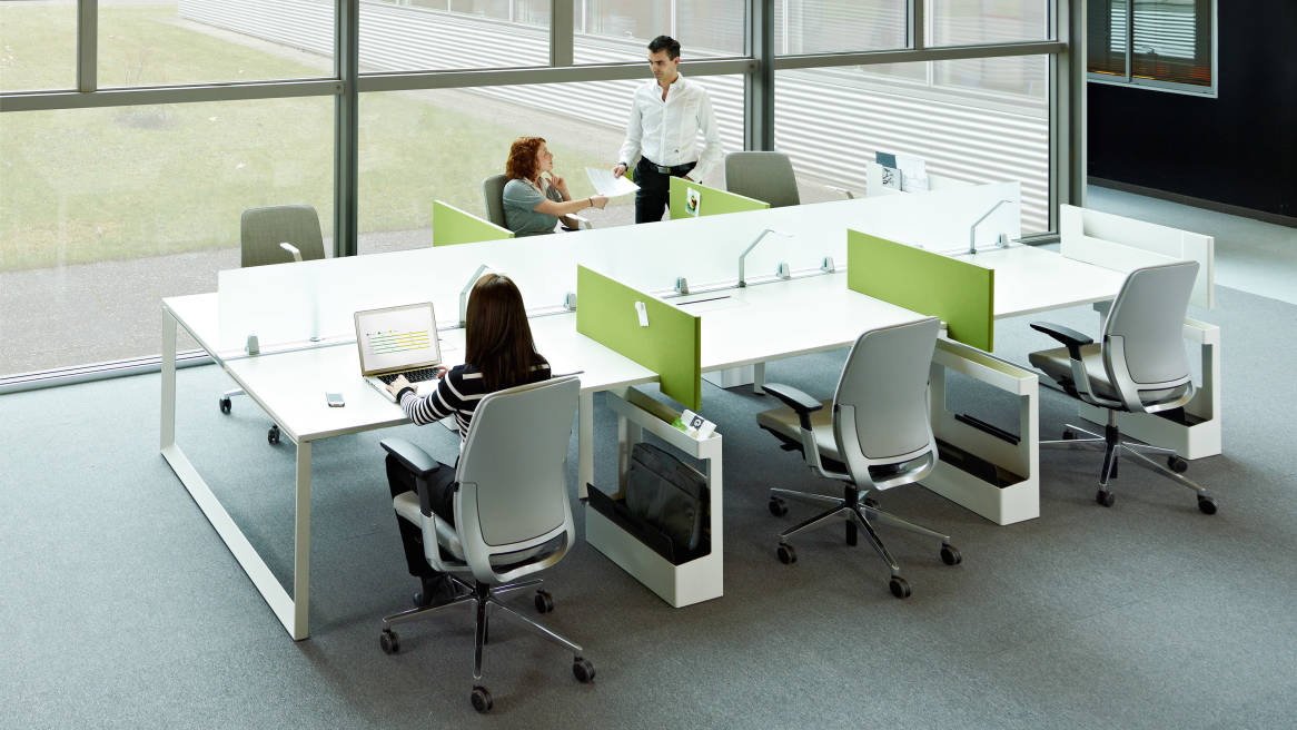 Frameone Bench Poste De Travail Steelcase