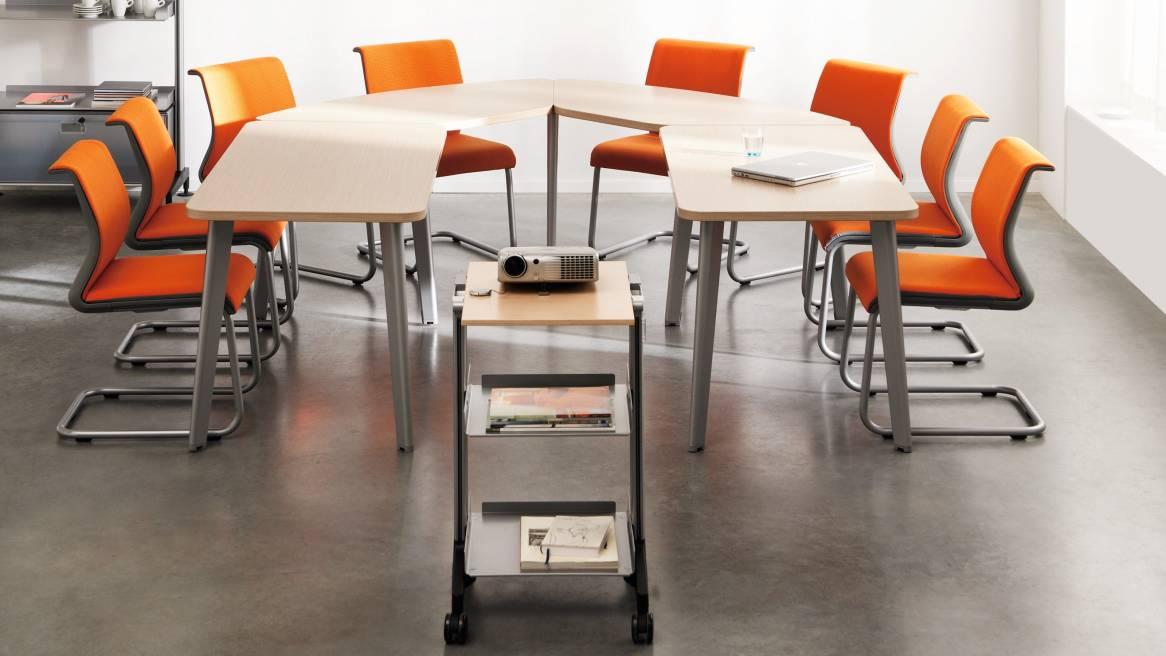Movida tables de conférence