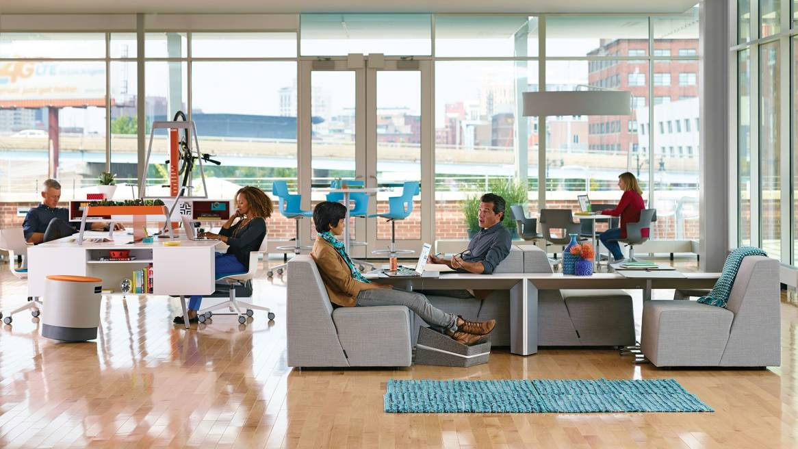 Office design in the emerging brazilian market steelcase for Office design of the future