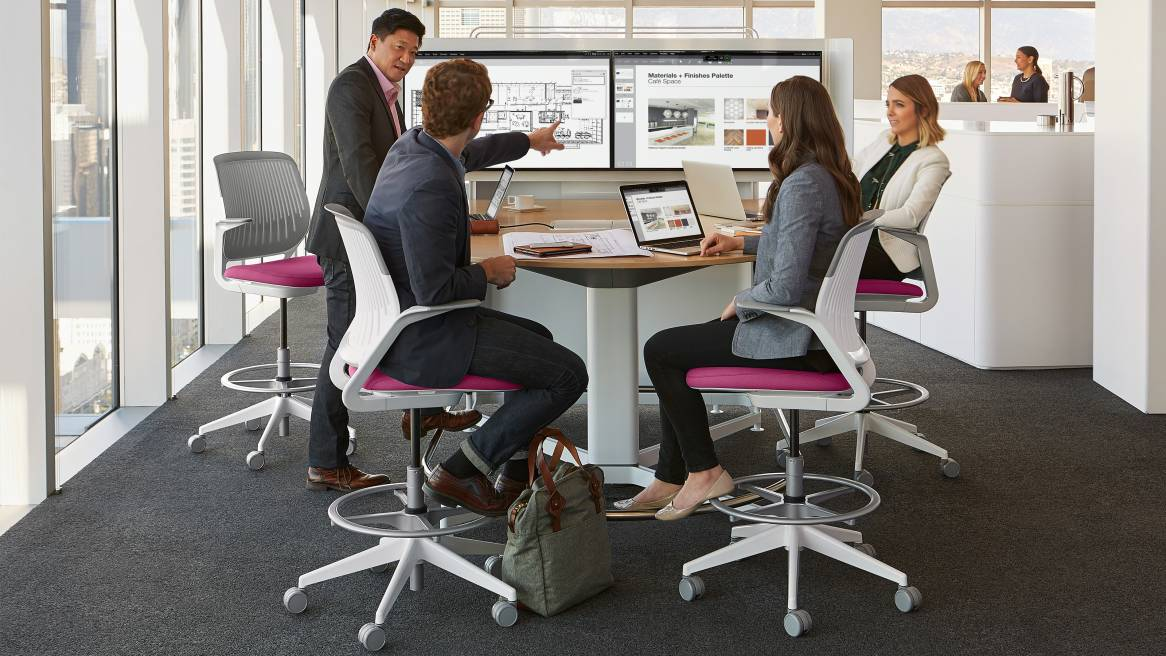 Collaborative Classroom Jobs ~ Media scape meeting conference technology steelcase