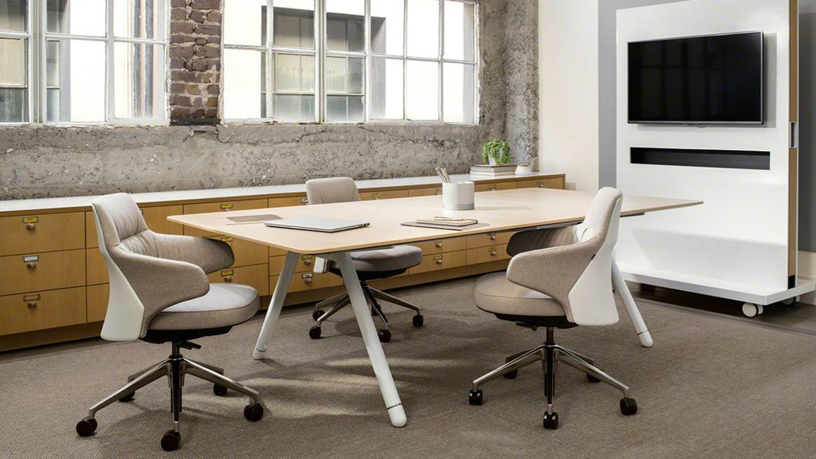 Coalesse potrero415 conference collaborative tables for Meeting table design 3d