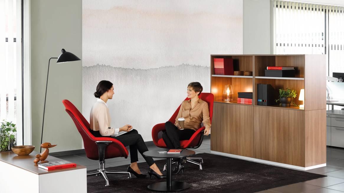 Share It Modularer Büro Stauraum, Regal und Garderobenschrank