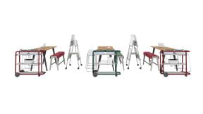 Steelcase Shortcut Stool, Steelcase B-Free, Steelcase Verb, Steelcase Flex Cart