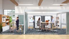 4 enfoques para crear espacios de trabajo híbridos