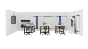 Steelcase Flex Collection, Steelcase SILQ, Coalesse Exponents Mediaboard