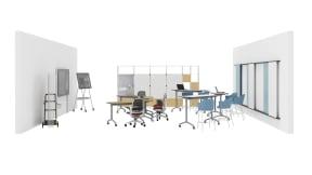Steelcase Roam collection, Steelcase Flex Active Frames, Steelcase Flex Collection, Steelcase Series 1, Smith System Elemental