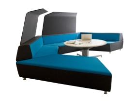 media:scape Lounge in collaborative workspace