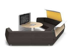 media:scape Lounge on white