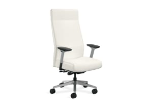 Siento High Back Office Chair with T-arms