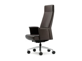 Siento high Back Office Chair with enclosed arms