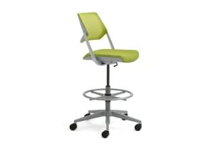 QiVi 5-star base armless stool