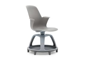 Node Chair - tripod base without worksurface, with glides
