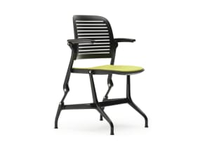 Cachet stack chair with arms
