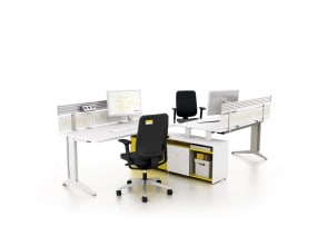 Fusion desk with storage