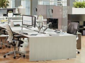 office benching application using Bivi Desk System