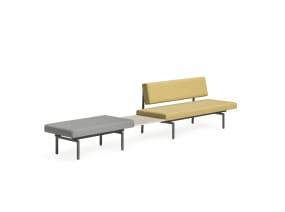 Sylvi Rectangular Lounge, Bench, Square Ganging Table