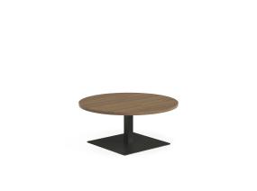 Sylvi round occasional table on white