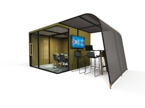 Campers&Dens Awnings on white background