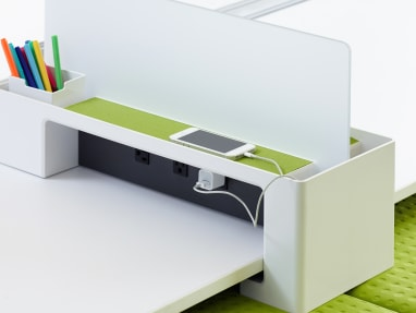 SOTO technology management and divider screen