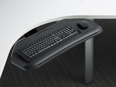 Close-Up of Diagonal Keyboard Platforms + Mechanisms
