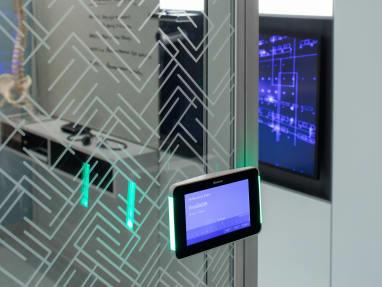Cloaking Technology on a V.I.A. glass wall