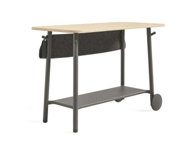 Flex Standing Height Table Isolated Image