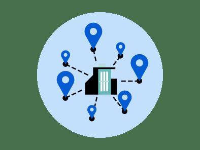 ESG web icon - Change Corp locations icon