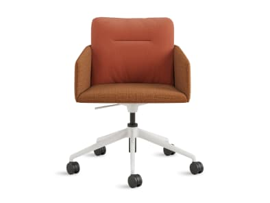 on white image of a marien152 chair with 5 start base