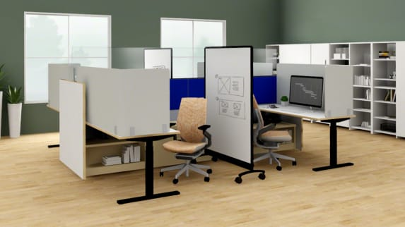 administrative application for post-covid learning spaces
