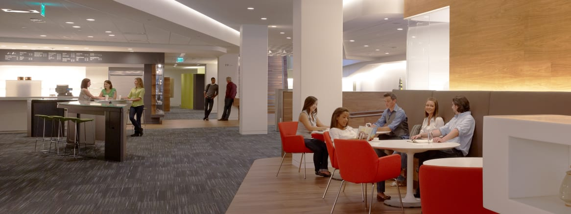 Steelcase Global Headquarters WorkCafe