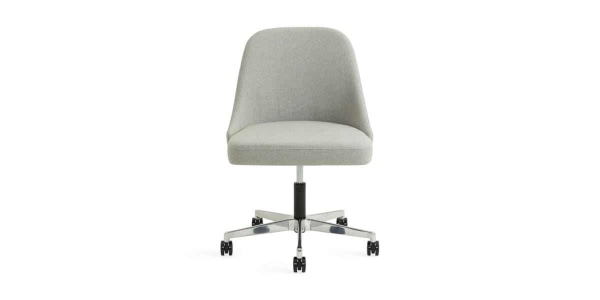West Elm Work Sterling Chair Armless 5-Star Base