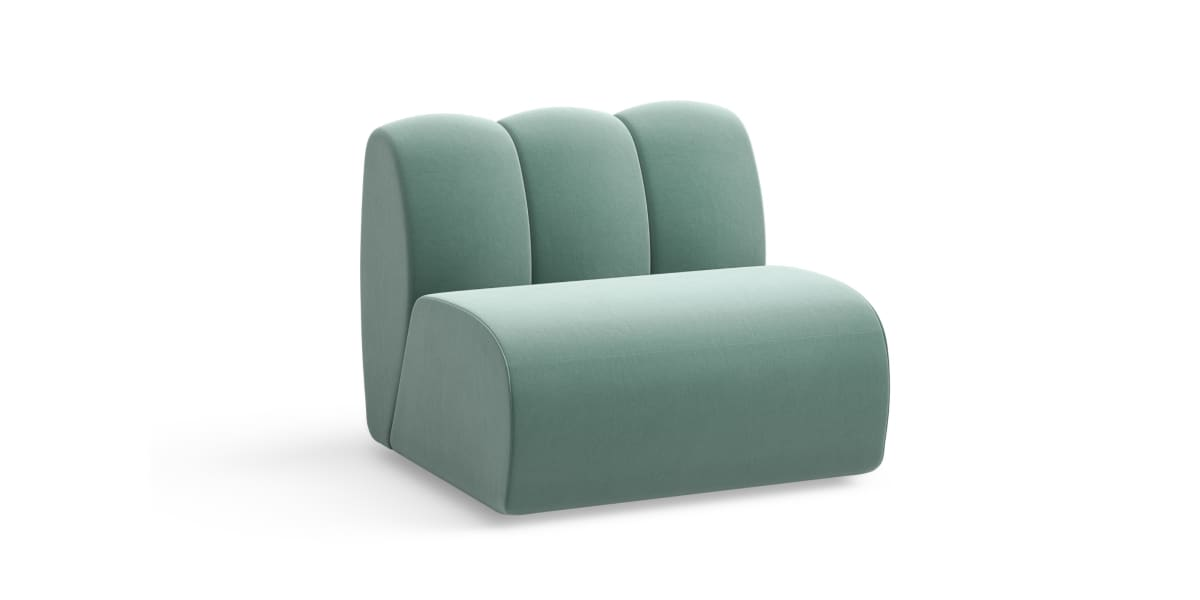 West Elm Work Belle One Seat Section