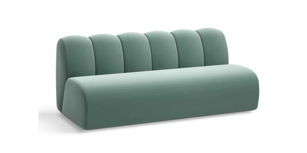 West Elm Work Belle Two Seat Section