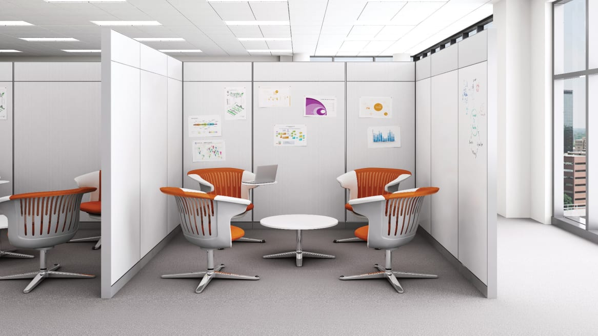 Montage Panel System used for Collaborative setting