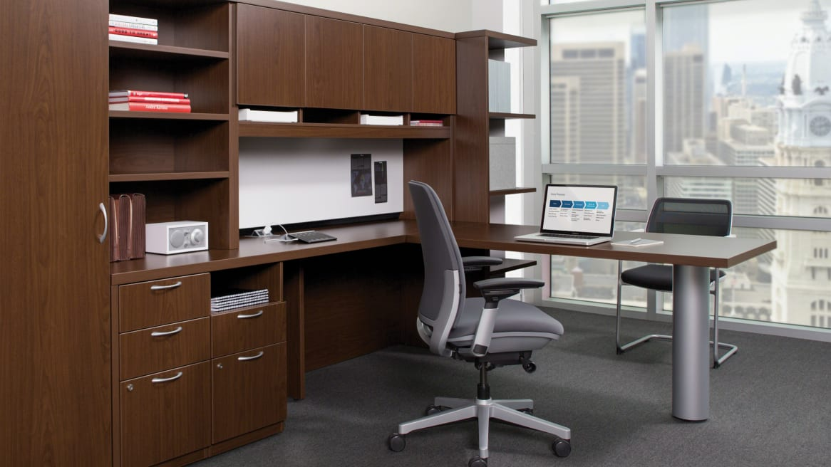 Payback storage and desk