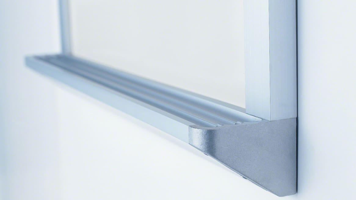 555 Series Whiteboard Ledge