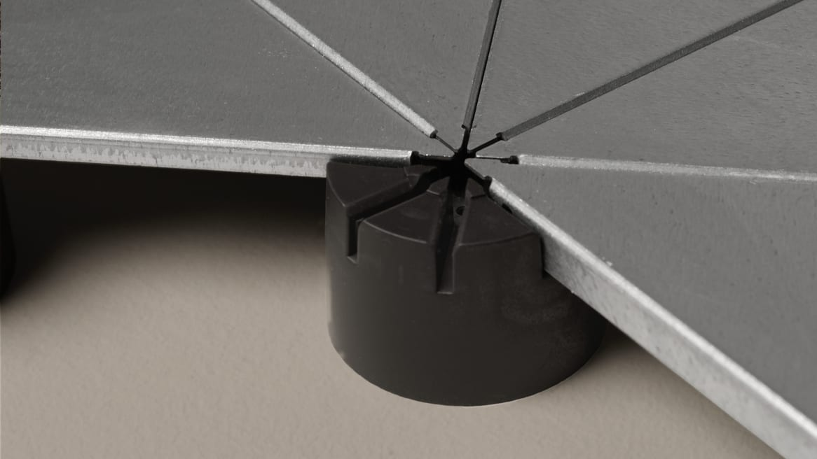 Underscore flooring supports