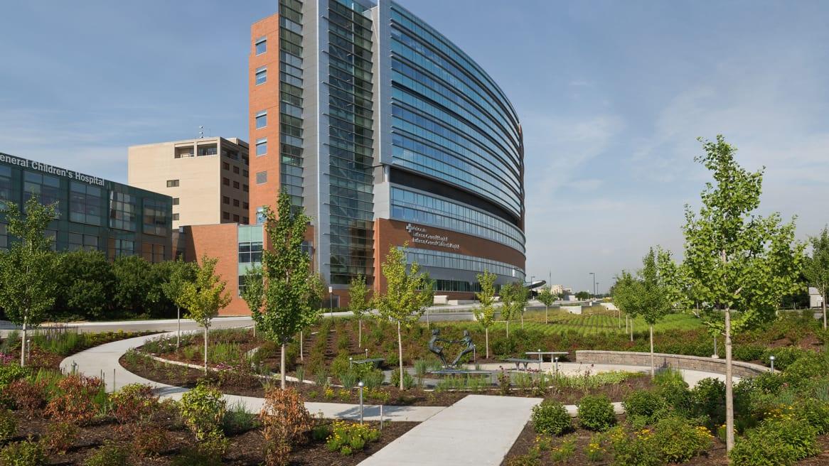 360 magazine advocate lutheran general hospital redesign
